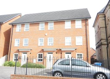 Thumbnail 4 bed town house for sale in Holden Drive, Manchester