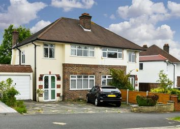 Thumbnail 3 bed semi-detached house for sale in Seaforth Gardens, Stoneleigh, Surrey