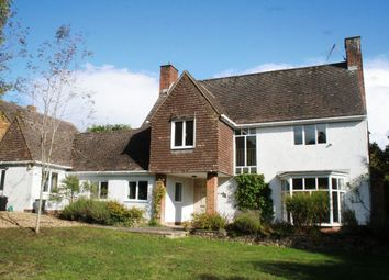 Thumbnail 4 bed detached house to rent in Harnwood Road, West Harnham, Salisbury