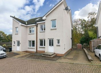 Thumbnail 4 bed semi-detached house for sale in Manse Court, Galashiels, Borders