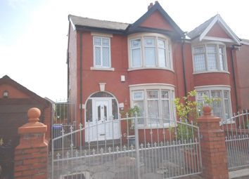 Thumbnail 4 bedroom semi-detached house for sale in Honister Avenue, Blackpool