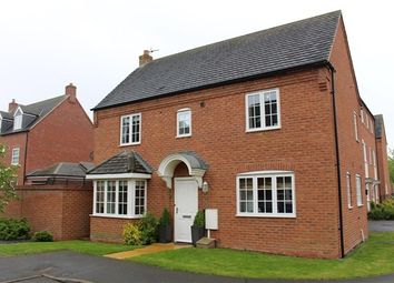 Thumbnail 3 bed detached house for sale in Pipistrelle Drive, Market Bosworth, Nuneaton