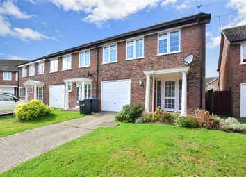 Thumbnail 3 bed end terrace house for sale in Farm Close, East Grinstead, West Sussex