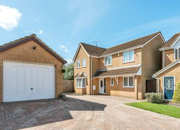 Thumbnail 4 bed detached house for sale in Truro Gardens, Flitwick, Bedford