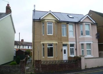 Thumbnail 3 bed semi-detached house to rent in St Johns Crescent, Rogerstone, Newport