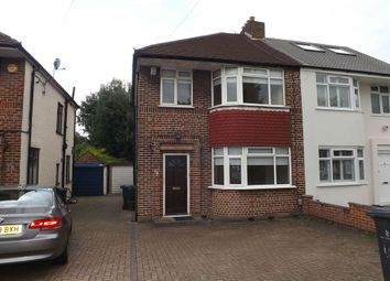 Thumbnail 3 bed semi-detached house to rent in Cranmer Road, Edgware