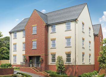 Thumbnail 2 bed flat for sale in Pinhoe, Exeter