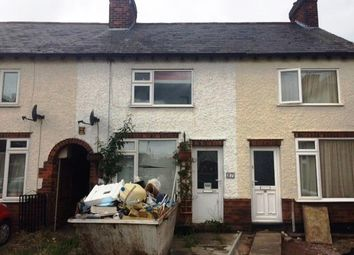 Thumbnail 2 bed terraced house for sale in Arnold Avenue, Wigston