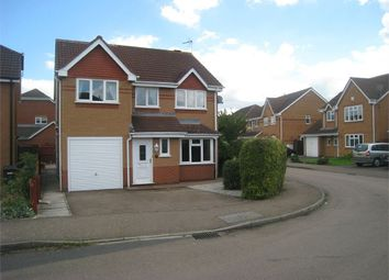 Thumbnail 4 bed detached house for sale in Harvest Way, Broughton Astley, Leicester