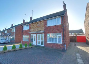 Thumbnail 3 bed semi-detached house to rent in Orchard Park Road, Hull