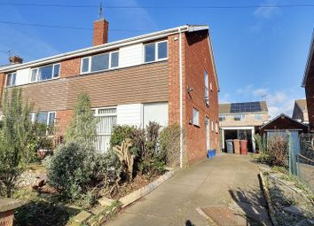 Thumbnail 3 bed semi-detached house for sale in Copper Beech Walk, Bottesford, Scunthorpe