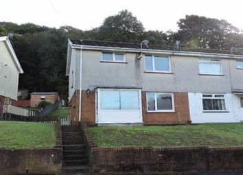 Thumbnail 3 bed semi-detached house to rent in Ael Y Fro, Pontardawe, Swansea