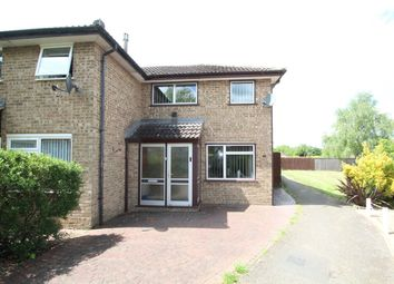 Thumbnail 3 bedroom end terrace house for sale in Hintlesham Close, Stowmarket