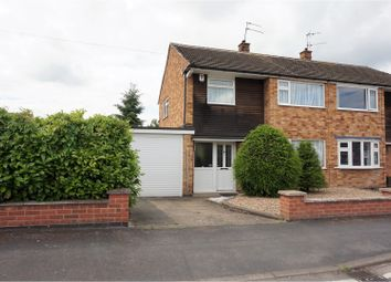 Thumbnail 3 bed semi-detached house for sale in Ivydale Road, Leicester