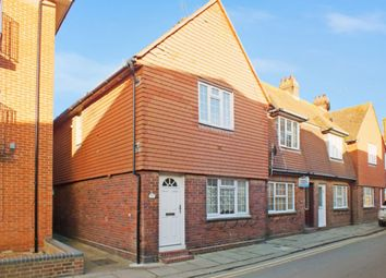 Thumbnail 2 bed end terrace house for sale in The Stade, Folkestone