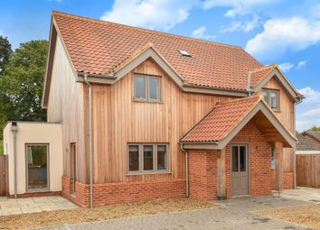 Thumbnail 4 bed detached house for sale in Holly Close, Taverham, Norwich