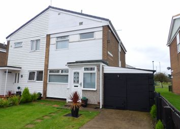 Thumbnail 3 bedroom semi-detached house for sale in Grindleford Court, South Shields