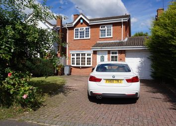 Thumbnail 4 bed detached house to rent in Stanbrook Road, Solihull