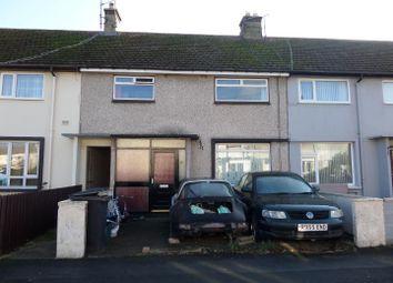 Thumbnail 3 bed terraced house for sale in Ffordd Dwyfor, Llandudno