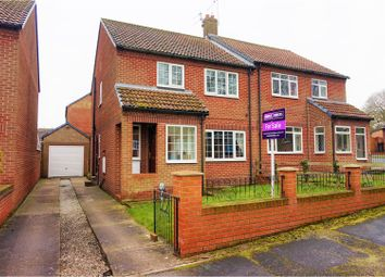 Thumbnail 3 bed semi-detached house for sale in Princess Way, Beverley