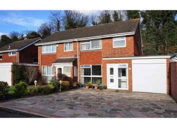 Thumbnail 3 bed semi-detached house for sale in Arne Grove, Orpington