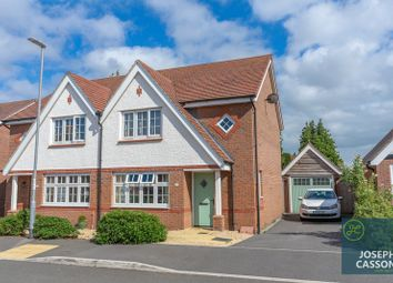 Thumbnail 3 bed semi-detached house for sale in Carver Close, Wembdon, Bridgwater