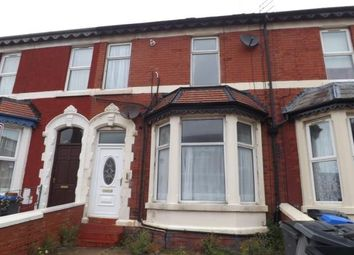 Thumbnail 3 bed terraced house for sale in Chesterfield Road, Blackpool, Lancashire, .