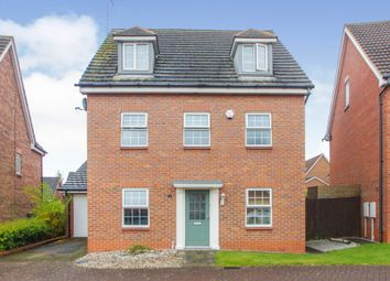 Thumbnail 5 bed detached house for sale in Waterfield Way, Clipstone Village, Mansfield