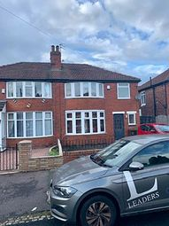Thumbnail 5 bedroom terraced house to rent in St. Chads Road, Withington, Manchester