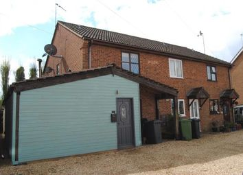 Thumbnail 2 bed semi-detached house for sale in Wormegay, Kings Lynn, Norfolk