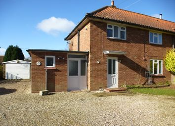 Thumbnail 3 bedroom semi-detached house for sale in Church Road, Ashmanhaugh, Norwich
