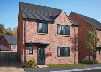 "Thumbnail 4 bedroom detached house for sale in ""The Mylne"" at Gidding Road, Sawtry, Huntingdon"