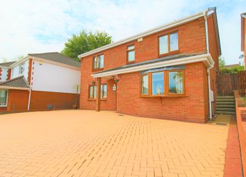 Thumbnail 4 bedroom detached house for sale in Bryngelli Park, Treboeth, Swansea
