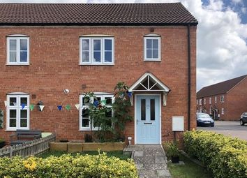 Thumbnail 3 bed end terrace house for sale in Hartlake Close, Glastonbury