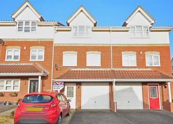 Thumbnail 3 bed town house for sale in Annett Close, Wickford, Essex