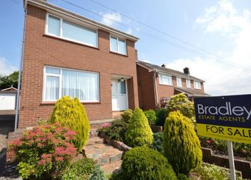 Thumbnail 3 bed detached house for sale in Barley Farm Road, Exeter, Devon
