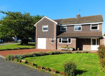 Thumbnail 4 bed detached house for sale in St.Giles Grove, Haughton, Stafford