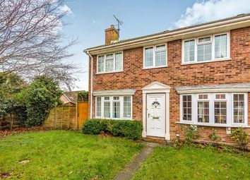 Thumbnail 3 bed end terrace house for sale in Pamber Heath, Tadley, Hampshire