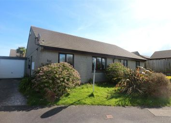 Thumbnail 2 bed semi-detached bungalow for sale in Treloweth Way, Pool, Cornwall