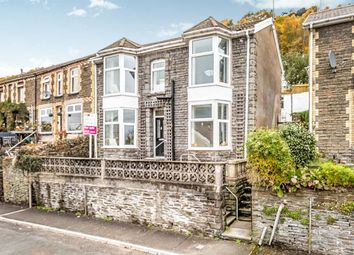 Thumbnail 3 bed detached house for sale in Pantygraigwen Road, Graigwen, Pontypridd