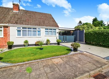 Thumbnail 2 bed semi-detached bungalow for sale in Shirlett Close, Aldermans Green, Coventry