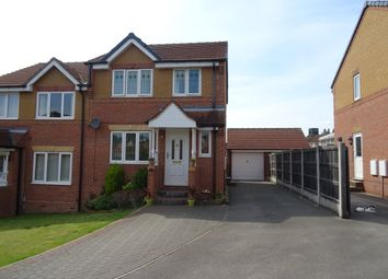 Thumbnail 3 bed semi-detached house for sale in Foxglove Folly, Alverthorpe, Wakefield