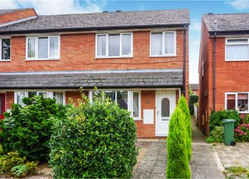 Thumbnail 3 bed terraced house for sale in St. Georges Crescent, Droitwich