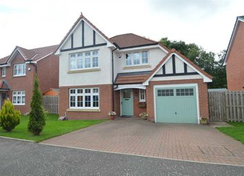 Thumbnail 4 bed detached house for sale in Vesuvius Drive, Motherwell