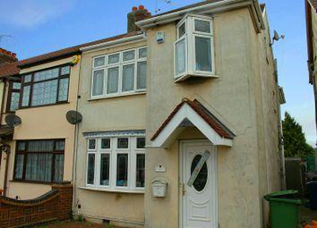 Thumbnail 4 bedroom terraced house for sale in Grove Park, Rainham, Essex
