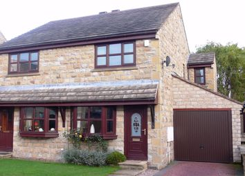 Thumbnail 3 bed semi-detached house to rent in Pack Horse Close, Clayton West, Huddersfield