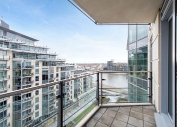 Thumbnail 2 bedroom flat to rent in Ensign House, Battersea Reach