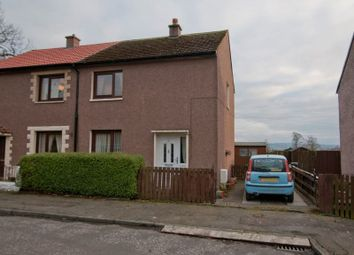 Thumbnail 2 bed semi-detached house for sale in Wilson Street, Blairhall, Dunfermline