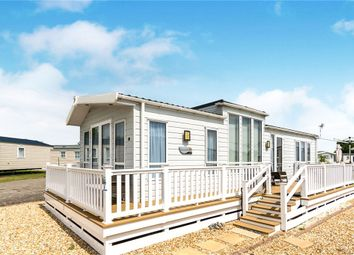 Thumbnail 2 bed property for sale in Lakeside Holiday Park, Runcton, Chichester