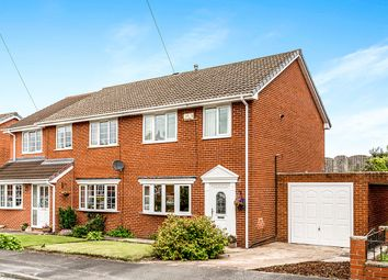 Thumbnail 3 bed semi-detached house for sale in Stonecliffe Drive, Middlestown, Wakefield
